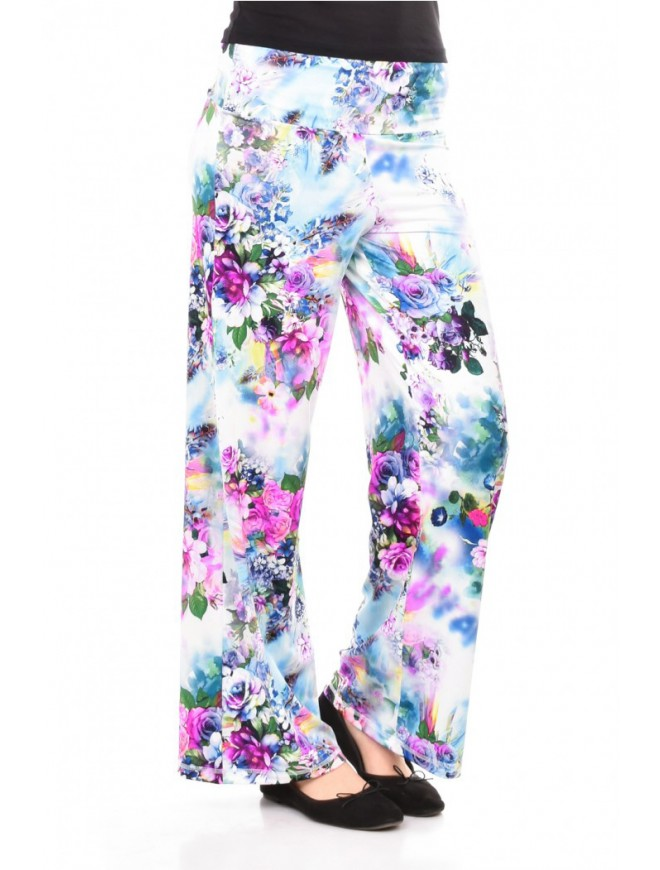 Floral trousers Svila