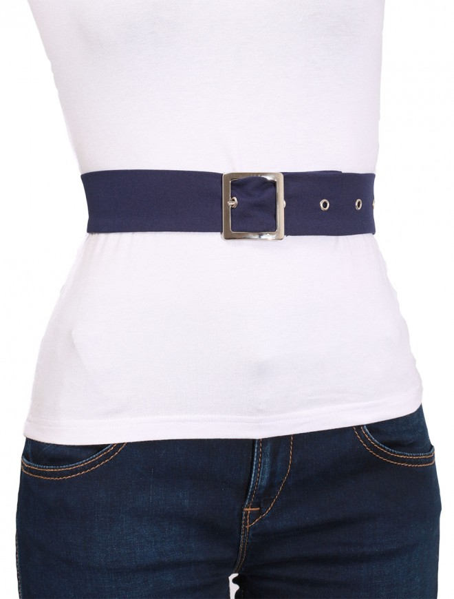 Zafira Dark Blue Belt