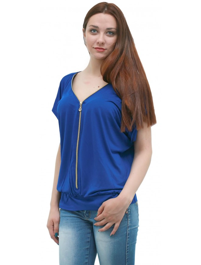 Evropa Dark Blue Blouse