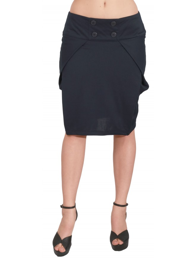 Krasozveta Dark Blue Skirt