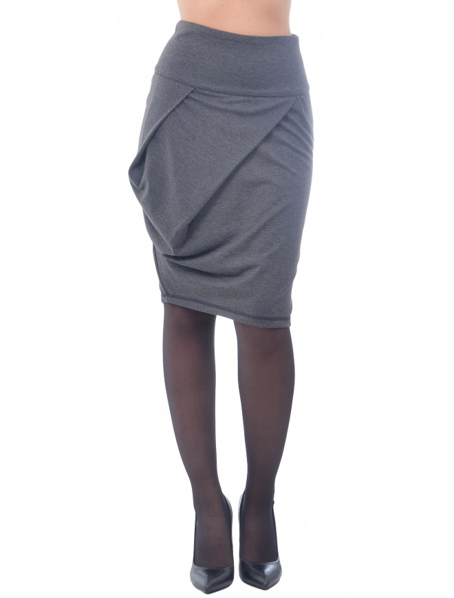Miza Dark Gray Skirt