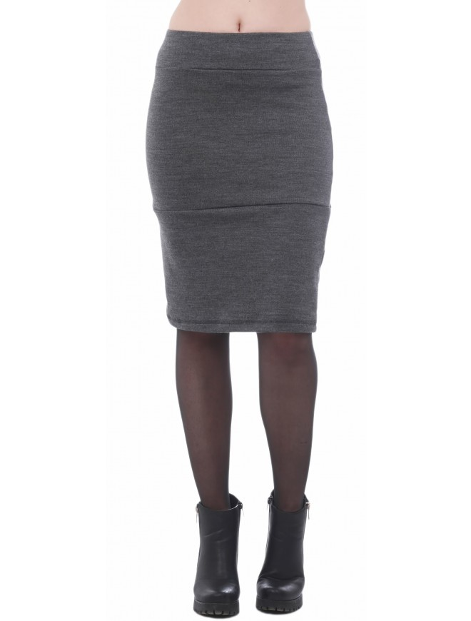 Steliana Dark Gray Skirt
