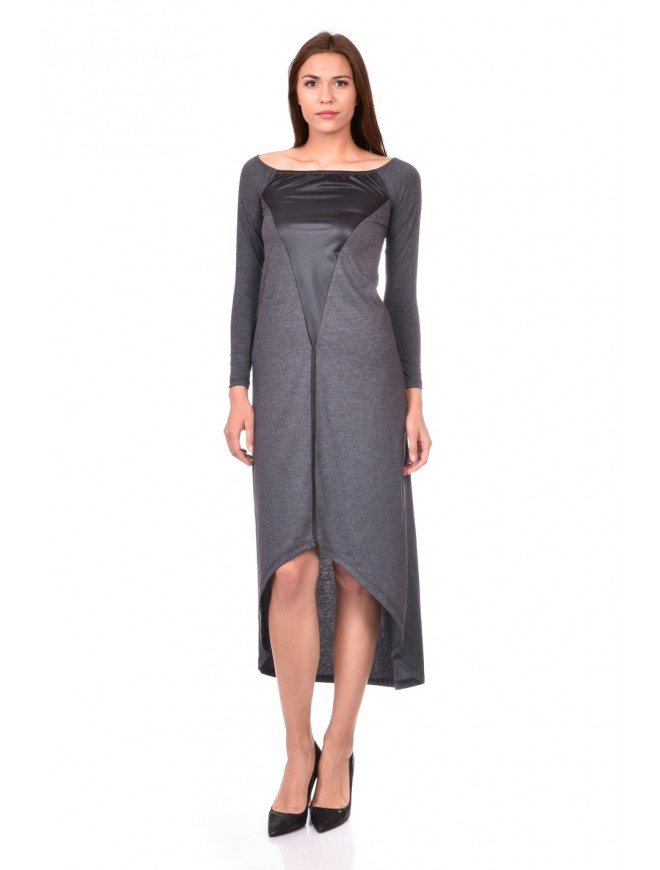 Dark Gray Dress Bogoslava