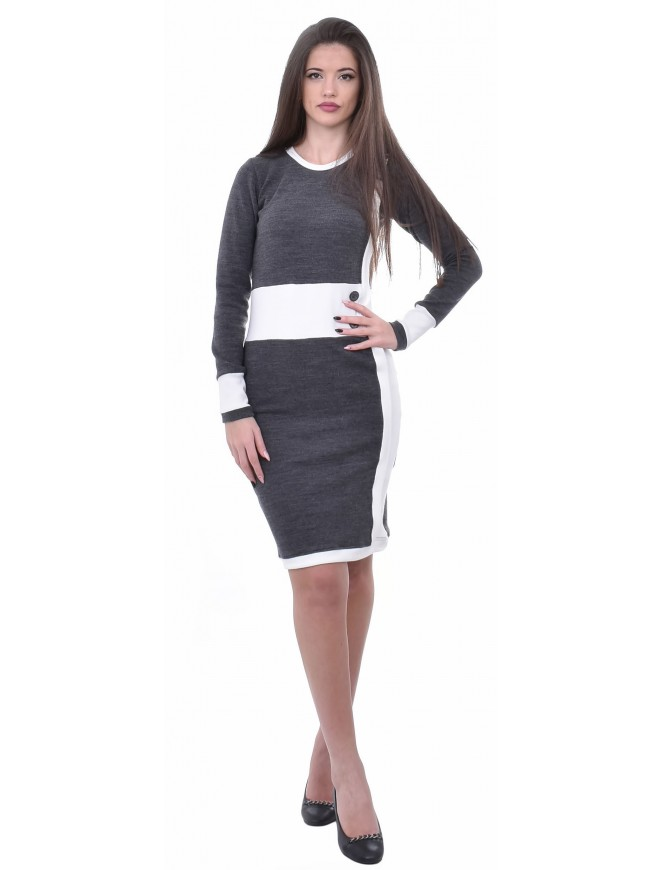 Galiena Dark Gray Dress