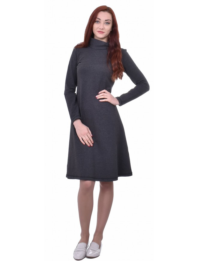 Zvetomira Dark Gray Dress