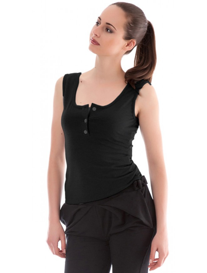 Marilena Top with Buttons