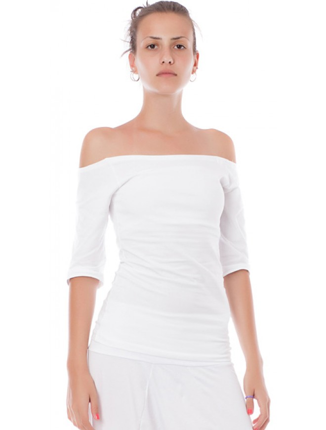 Ianichka Top with Bare Shoulders