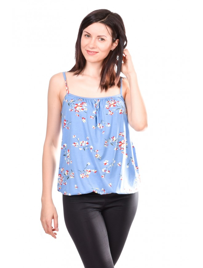 Women top with Flowers Olitia