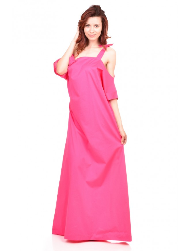 Magenta summer dress Yoana-Galina