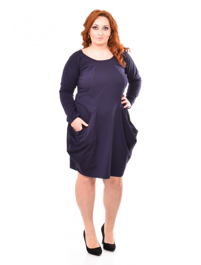 Toska Dark Blue Dress