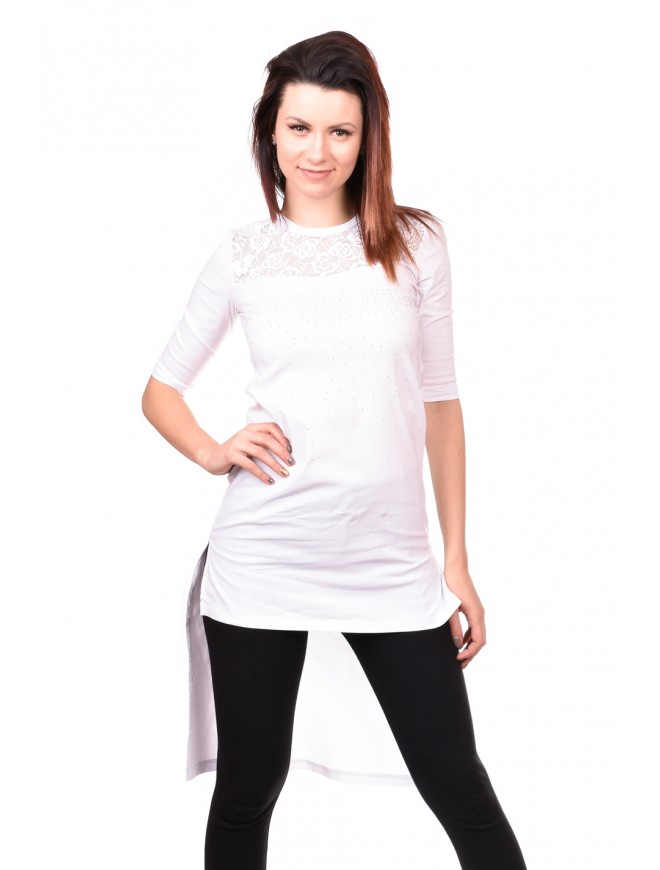 Tunic in White Andika
