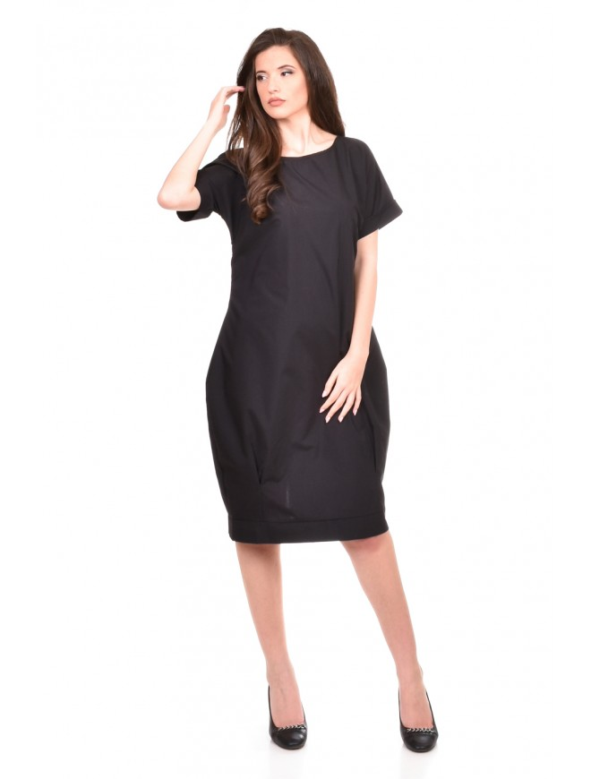 Comfortable balloon dress Alesa