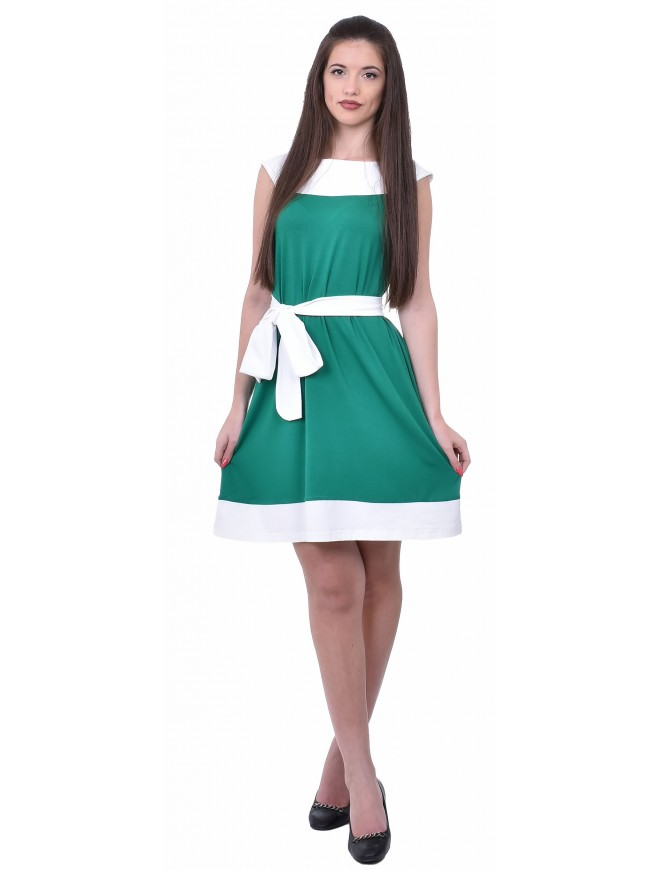 Valerina Green Dress