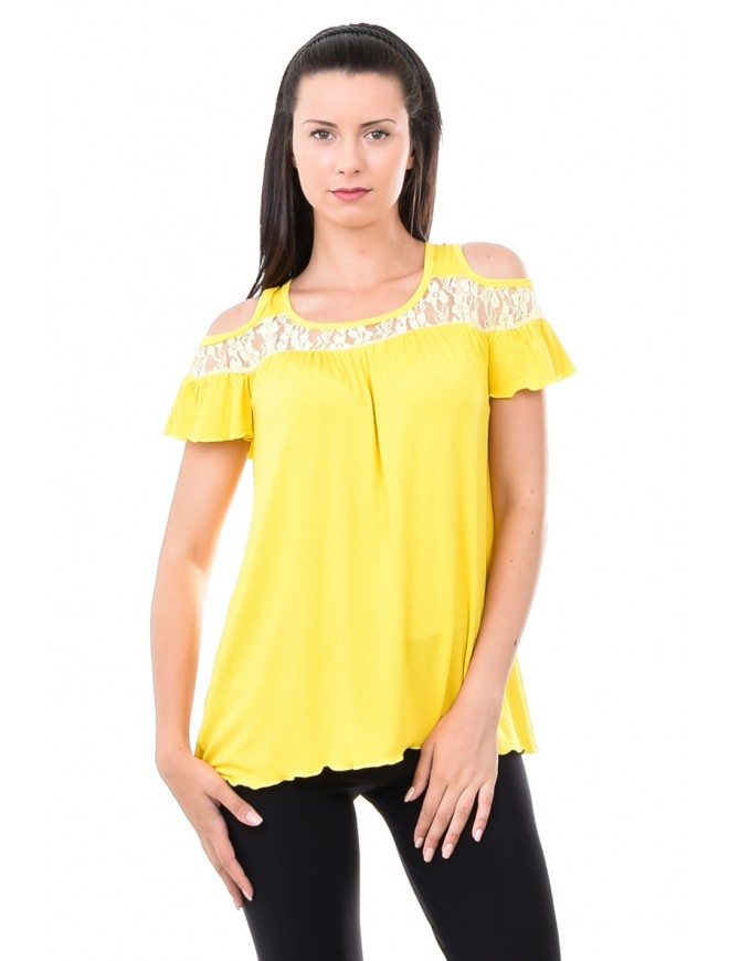 Vittoria Yellow Blouse